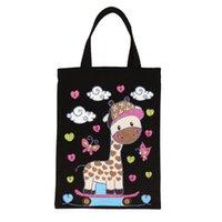 Storage Bags L38A DIY Diamond Painting Handbag Handmade Shoulder Shopping Bag Gift Canvas