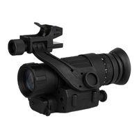 Telescópio Binóculos Noite Monocular Caça Escopo Sight Riflescope Óptica Irluminação Capacete