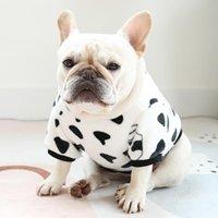 Dog Apparel Pets Clothes Plus Cashmere Sweater Pet Panda Cow Modeling To Keep Warm Luxury Chrismas