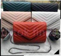 Alta Qualidade Flap Bags Luxo Designer Bolsas Sunset Original Couro Mulheres Ombro Mulheres Moda Médio Crossbody Bag