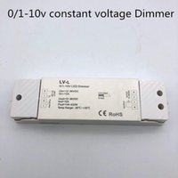12-36vmini stile 0 / 1-10V LED Controller di dimming 0 / 1-10V LED a tensione costante 0-10Vdimmer 1 canale 12A PWM Dimmer -L L4-L