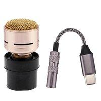 N-M182 Cartouche de microphone Dynamique Microphones Dynamique Core 384KHz 32 bits DAC Numérique Type-C à 3,5 O Câble d'adaptateur
