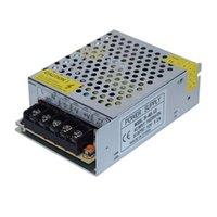 50pcs DC 12V 3.2A 40W Transformador de iluminação, adaptador de energia do motorista de 110V 220V AC100-220V para a fonte de alimentação da tira de LED 3528