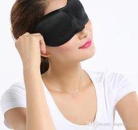 ravel 3D Eye Mask Sleep Soft Sponge Padded Shade Cover Rest Relax Sleeping Blindfold Aid Eyemasks gift Accessories