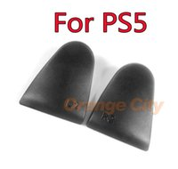 Anti Slip L2 R2 Trigger Extended Buttons Kit For PS5 Controller Analog Extenders Thumbtick