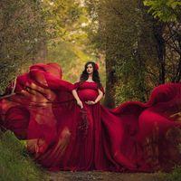 섹시한 출산 이브닝 드레스 Photoshoot 시폰의 임신 드레스 긴 임신 여성 Maxi 가운 사진 소품 베이비 샤워 Q0713