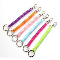 Sleutelhangers plastic lente touw sleutel tas mobiele telefoon lanyard kleur compleet