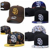 Snapbacks Padres Chapeau de plein air Summer Casquette de camion de baseball