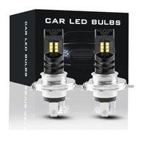 2pcs H4 LED Headlight Bulb Beam Kit Canbus 55W 15000LM LED Canbus 6000K Car Light Headlamp IP68 Conversion Globes Headlight Bulb