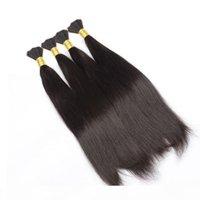 8A бразильские человеческие волосы навалом для волос наращивание волос шелковистые прямые 12-30 дюймов бразильский человеческий плетение волос падение волос