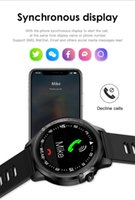 الساعات الذكية reloj inteligente hombre l8 ip68 مقاوم للماء معدل ضربات القلب ضغط الدم النوم مراقبة smartwatch المقتفي مشاهدة النساء