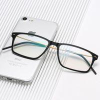 أزياء النظارات الشمسية إطارات الدنمارك خلات نظارات إطار الرجال مربع قصر النظر وصفة ضوئية التيتانيوم النظارات الفاخرة عدل النظارات
