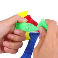 Сенсорные игрушки Мрамор Мяч Аутизм ADHD Терапия тревоги EDC стресс с рельефом руки Hidget плетеная сетка легкий изгиб с мраморной игрушкой