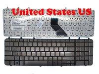Laptop-Tastatur für DV7-1000 Brauner Silber US / CA / TR / Tr 483275-001 V080602DK1 EF V0805021 GR MP-07F13US6698