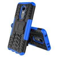red rice 5 plus mobile phone case 2-in-1 anti falling tire tread protective cover bracket