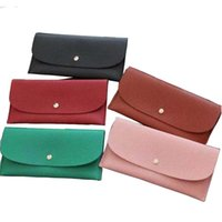 Wholesale Buckle wallet designer long wallet lady multicolor designer coin purse Card holder women classic pocket clutch free shipping