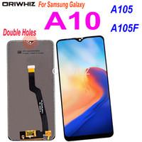 Súper AMOLED LCD para Samsung Galaxy A10 LCD A105 A105F SM-A105F Pantalla LCD Pantalla táctil Montaje digitalizador