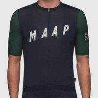 Maap hombres verano ciclismo jersey mtb maillot camisa bicicleta cuesta abajo jersey de alta calidad estilo clásico montaña ropa de bicicleta H1020