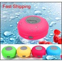 Mini Bluetooth Hoparlör Taşınabilir Su Geçirmez Kablosuz El Hoparlörler Louzspe Duşlar için Banyo Havuzu Araba Beach ve Açık Enejk XFV3W