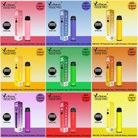 메쉬 코일 vape 펜으로 도매 공장 전자 담배 일회용 장치 포드 vidge 프로 1200mAh 배터리