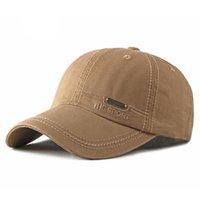 عارضة الصلبة الربيع الصيف المرأة ذيل حصان قبعة بيسبول الأزياء القبعات الرجال قبعات القطن في الهواء الطلق بسيط خمر قناع قبعة قابل للتعديل