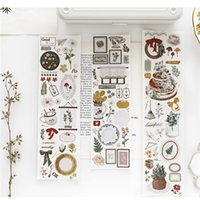 Gift Wrap Good Morning Happy Birthday PET Washi Tapes Journal Masking Tape Adhesive DIY Scrapbooking Decorative Stickers
