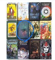 220 estilos tarots bruxa cavaleiro smith waite shadowscapes tarot selvagem plataforma de tabuleiro cartão com caixa colorida versão em inglês