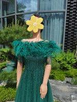 Vestidos de fiesta Vestidos verdes Moda Vestido de anfitrión de lujo Vestido de anfitrión de lujo Promdress