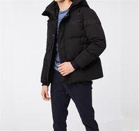 Homens de inverno clássicos grosso para baixo jaquetas homme jassen chaquetas parka outerwear jaqueta mens manter casaco quente grande pele com capuz Fourrure Manteau Hiver Doudoune