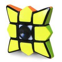 Original de alta calidad YUMO Fingertip giroscopio 1x3x3 Magic Cube Finger Spinner Gyro 133 Velocidad Puzzle Regalo de Navidad Juguetes Regalos