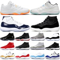 Air Jordan Retro 11 Zapatos de baloncesto Jumpman 11s Concord S Prom Night Men Citrus Jubilee Pascua Gimnasio Red Midnight Navy Barones Atlético para hombre Deportes Deportes Entrenadores