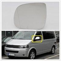 Côté gauche pour VW Transporter Multivan T5 T6 2010 2011 2012 2013 2014 2014 Verre de miroir arrière chauffant de style voiture