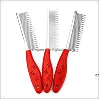 Pet Supplies Home & Gardendog Comb Long Thick Hair Fur Removal Brush Stainless Steel Pets Dog Cat Grooming Combs Dogs Barber Hwf8518 Drop De