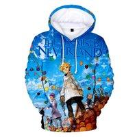 Men's Hoodies & Sweatshirts The Promised Neverland Hoodie Anime Boy Girl 3D Print Hip Hop Harajuku Pullovers