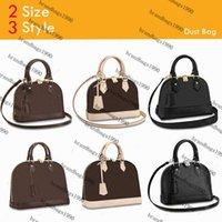 Fashion Designer BB Size Shell Bag Genunie Leather Classic Donne Borse Borse Body Cross Body M53152