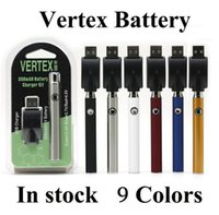 버텍스 VV 예열 배터리 키트 LO 510 배터리 CO2 오일 기화기 O 펜 350mAh 가변 전압 배터리