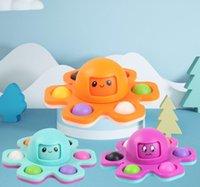 Fidget Brinquedos Fidgets Fidgets Spinner Push Push Bubble Dice Ventilando Artefato Fingertip Novidade Autismo Sensorial Precisa de Ansiedade Reliever Brinquedo