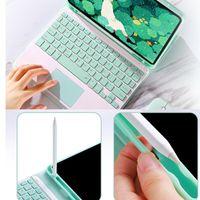 لوحة مفاتيح لوحة المفاتيح غطاء مع حامل قلم رصاص انفصال بلوتوث اللاسلكية JHP-