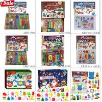 Hot 24pcs Fidget Toys Pack Mystery Box Advient Calanders Sorpresa Navidad Regalo Caja Antistress Simple Dimple 2022 Regalos de novedad