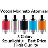 2021 Tanque de cera do atomizador de Yocan original do yocan com tampa da tampa da tampa magnética da tampa de cerâmica 510 Vaporizador limpo do vape