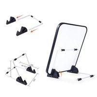 접이식 LED 라이트 패드 스탠드 다이아몬드 페인팅 안정적인 패드 전화 스탠드 홀더 다이아몬드 자수 공예 개조 액세서리