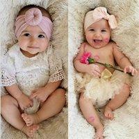 Yeni Süper Yumuşak Naylon Düğüm Kafa Bebek Kızlar Için Bebek Türban Headwraps Saç Aksesuarları Fotoprop Kız Saç Aksesuarları Toptan 107 Y2