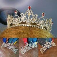Hair Clips & Barrettes Bridal Crown Headwear Luxury Rhinestones Retro Headdress Wedding Birthday Accessories For Female AIC88