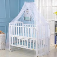 Crib Netting Baby Curtain Mosquito Net Summer Anti Insect Bed Mesh Dome For Toddler Cot Canopy
