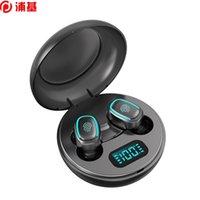 VRAI Écouteurs sans fil Bluetooth 5.0 A10 A10 TWS Casques avec oreillettes intra-auriculaires imperméables imperméables micro IPX5 Sports Casque de sport avec étui de charge