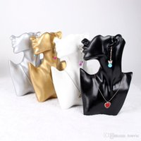 Wholesale High Quality Resin Necklace Earring Jewellery Set Display Stand Holder Bust