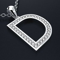 HBP Luxury Новая корейская версия Простая цепочка ключицы Creative D серия мода универсальная подвеска буква ожерелье прямо