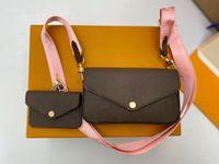 2021 النساء المصممين الفموي حقائب كروسبودي حقائب جلدية حقائب محفظة حقيبة الكتف حمل فارس شرابة حقيبة يد