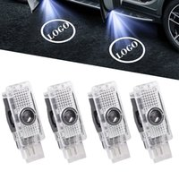LED carro decoração lâmpada logo Laser Ambient Light Project Luces para Mercedes Benz C CLK SLK Classe W203 W208 W209 R171 R172 W240
