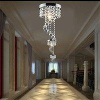 Ceiling Lights Modern LED Crystal Chandelier Light Ceiing Lamp Lustre Hanging Pendant Lighting Fixtures Luminaire For Living Room Corridor